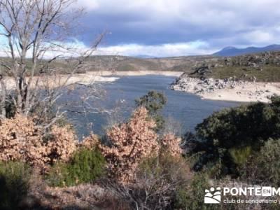 Senda Genaro - GR 300 - Embalse de El Atazar; senderismo jaen
